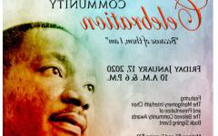 MLK Celebration informational flyer